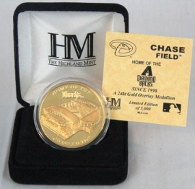 Chase Field 24KT Gold Commemorative Coin
