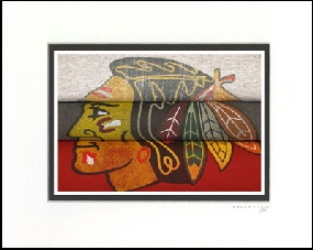 Chicago Blackhawks Vintage T-Shirt Sports Art