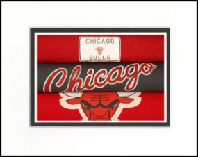 Chicago Bulls Vintage T-Shirt Sports Art