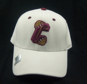 Charleston Cougars White One Fit Hat