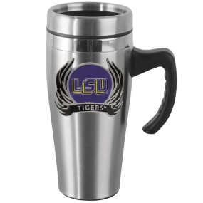 LSU Flame Steel Mug w/Handle