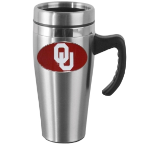 Oklahoma Steel Mug w/Handle