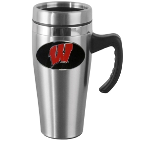 Wisconsin Steel Mug w/Handle