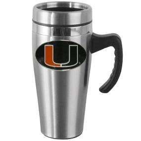 Miami Steel Mug w/Handle