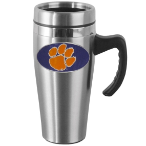 Clemson Steel Mug w/Handle