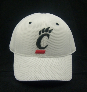 Cincinnati Bearcats White Elite One Fit Hat