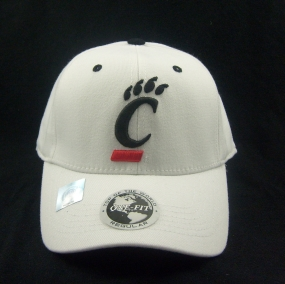 Cincinnati Bearcats White One Fit Hat