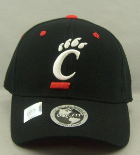 Cincinnati Bearcats Black One Fit Hat