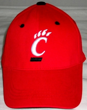 Cincinnati Bearcats Youth Team Color One Fit Hat
