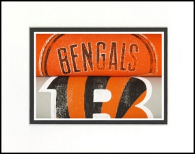 Cincinnati Bengals Vintage T-Shirt Sports Art