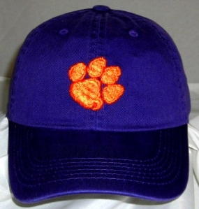 Clemson Tigers Adjustable Crew Hat