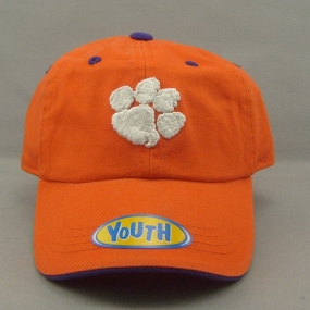 Clemson Tigers Youth Crew Adjustable Hat
