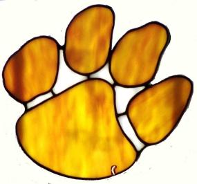 Clemson Tigers Suncatcher