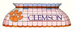 Clemson Tigers Pool Table Light