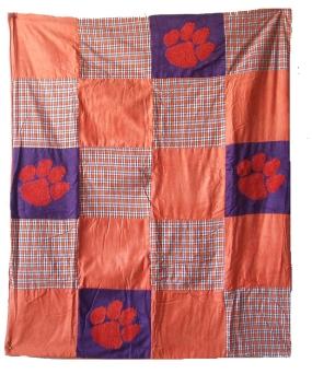 Clemson Tigers Quilt