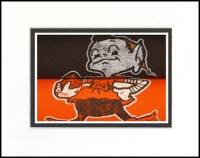 Cleveland Browns Vintage T-Shirt Sports Art