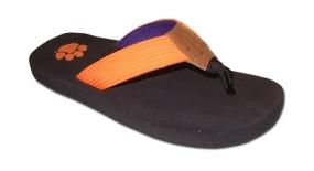 Clemson Tigers Flip Flop Sandals