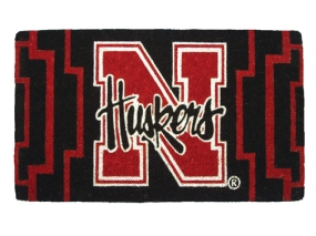 Nebraska Cornhuskers Welcome Mat