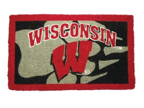 Wisconsin Badgers Welcome Mat