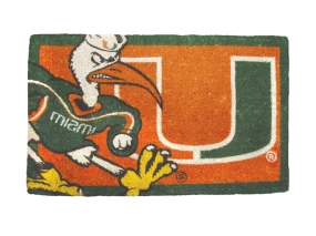 Miami Hurricanes Welcome Mat