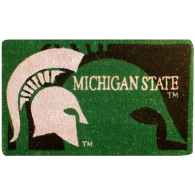 Michigan State Spartans Welcome Mat