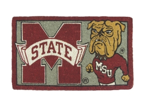 Mississippi State Bulldogs Welcome Mat