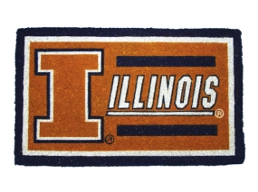 Illinois Fighting Illini Welcome Mat