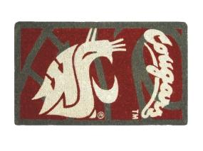 Washington State Cougars Welcome Mat