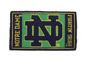 Notre Dame Fighting Irish Welcome Mat