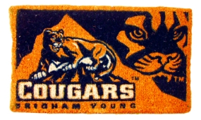 Brigham Young Cougars Welcome Mat