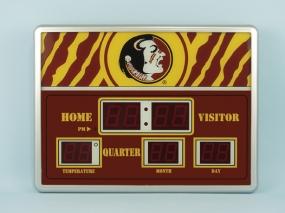 Florida State Seminoles Scoreboard Clock