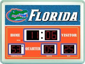 Florida Gators Scoreboard Clock