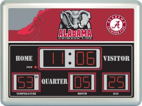 Alabama Crimson Tide Scoreboard Clock