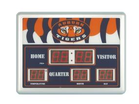 Auburn Tigers Scoreboard Clock