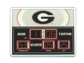 Georgia Bulldogs Scoreboard Clock