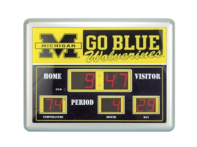 Michigan Wolverines Scoreboard Clock