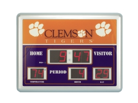 Clemson Tigers Scoreboard Clock