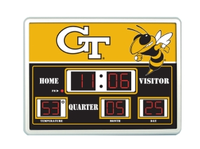 Georgia Tech Yellow Jackets Scoreboard Clock