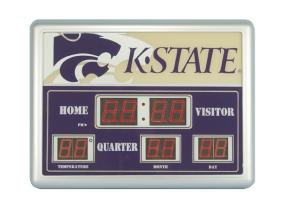 Kansas State Wildcats Scoreboard Clock