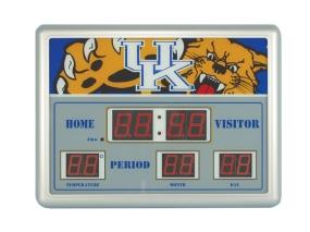 Kentucky Wildcats Scoreboard Clock
