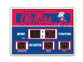 Mississippi Rebels Scoreboard Clock