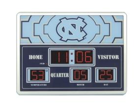 North Carolina Tar Heels Scoreboard Clock