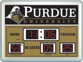 Purdue Boilermakers Scoreboard Clock