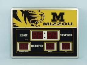 Missouri Tigers Scoreboard Clock