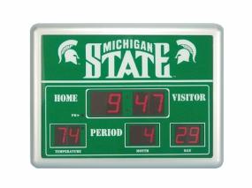 Michigan State Spartans Scoreboard Clock