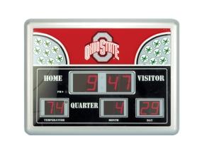 Ohio State Buckeyes Scoreboard Clock