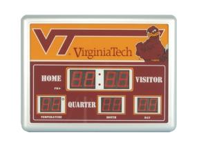 Virginia Tech Hokies Scoreboard Clock