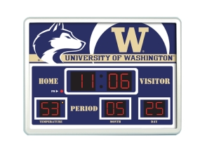 Washington Huskies Scoreboard Clock