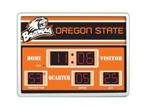 Oregon State Beavers Scoreboard Clock