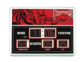 Arkansas Razorbacks Scoreboard Clock